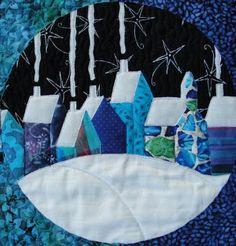 inspiration, christmas patterns, hous quilt, quilt inspir, quilts