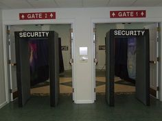 Security Check-in - Ino Baptist Church - Gotta have Security at the Airport. :)
