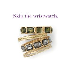"""lia sophia jewelry — """"Versailles"""" and """"Bolt"""" stacked bangles - i'm all about skipping my watch! www.liasophia.com/aprilpertuis"""