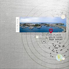 landscape + circles
