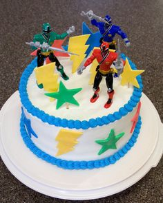 LOVE IT! Cullinan Cakes: Power Ranger Cake