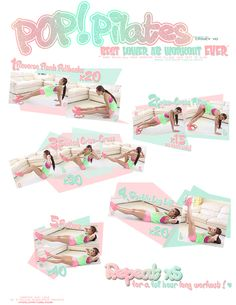 blogilates:    The Best Lower Abs Workout!  Do the workout video with me here.