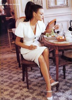 Trish Goff by Pamela Hanson for Vogue US (January 1995).