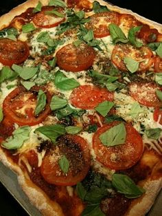 Balsamic Vinegar Pizza