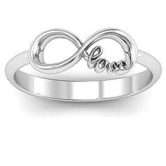 Love Infinity Ring | Jewlr