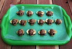 kid activities, build food, weight loss, snack recipes, food storage, cheap snack, healthy foods, bumble bees, peanut butter
