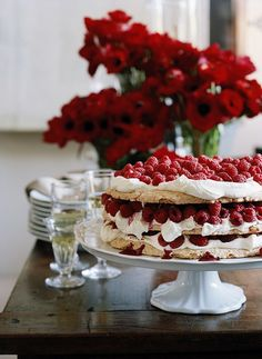 Raspberry Cake | photo by petrina tinslay