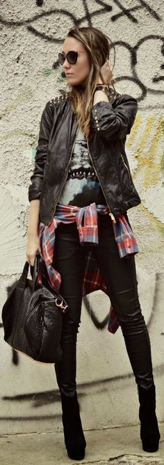 Keep That Grunge Vibe! by J'adore Fashion