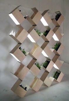 HERB² indoor vertical garden