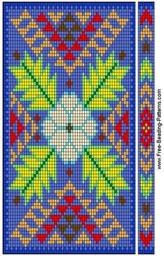 beading patterns, bead pattern, book cover