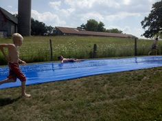 Summer is here! Get the world's biggest slip and slide -- 75 feet :)