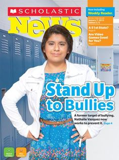 Stand Up to Bullies - Free issue of Scholastic News online - includes free teacher guide and other resources