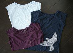 cute ways to cut a t shirt | DIY T-Shirt Bag {Repurposing Old T-Shirts} | Green Your Way