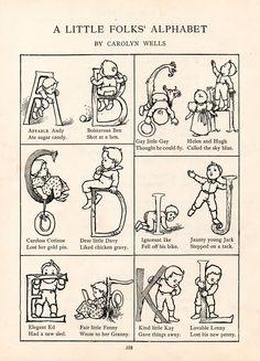 Little Folks Alphabet A-L