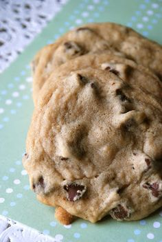 Soft & Chewy Chocolate Chip Cookies - Lovin' From The Oven
