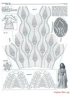 Платье - сарафан из ананасов он-лайн - Вяжем вместе он-лайн - Страна Мам