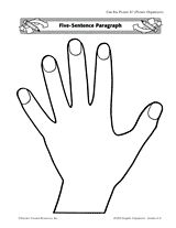 Give me five -- Five-sentence paragraph graphic organizer: http://bit.ly/Hb0wVW #graphicorganizer graphic organizers
