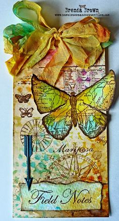 Country View Crafts' Projects: Field Notes - tag