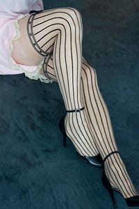 Can-can dancer stockings