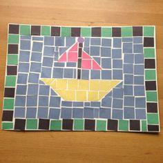 How to make children's mosaics  via @Guidecentral - Visit www.guidecentr.al for more #DIY #tutorials