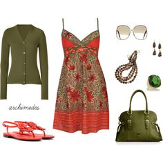 """""""Sundress Weather"""" by archimedes16 on Polyvore"""