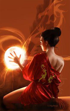 ✯ The Dragon Sorceress ✯