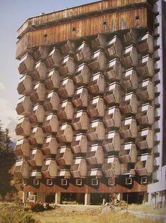 Russia, Dombai, Rehabilitation center, 1985.