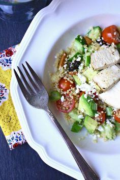 Couscous Salad #couscous #chicken