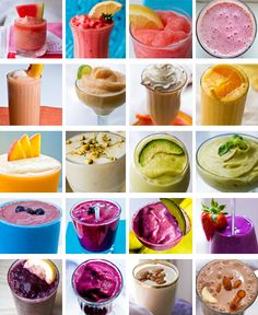 20 Summer Smoothies @Chelsea Reed