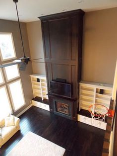 31,687 two story fireplace Home