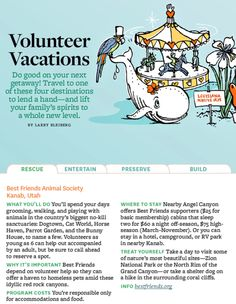 Volunteer vacation