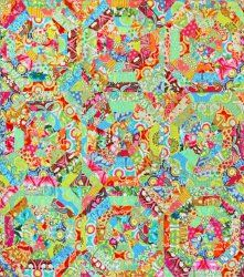 Sunshine Kaleidoscope #Quilt pattern by Amy Butler