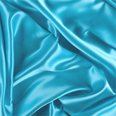 Aqua Silk Charmeuse - 1000M145 - Fabric By The Yard At Discount Prices