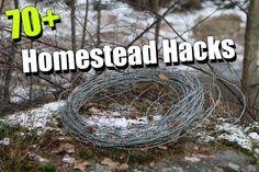70+ Homestead Hacks - SHTF, Emergency Preparedness, Survival Prepping, Homesteading