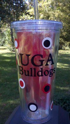 Georgia Bulldogs Tumbler