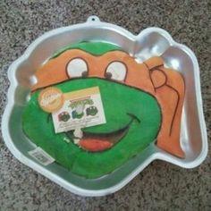 Tmnt Face Cake Pan