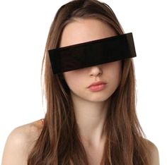 """Sunglasses that look like a """"censored"""" bar from urban outfitters!!:P"""