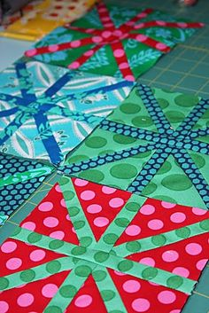 Asterisk Quilt would make a good christmas quilt