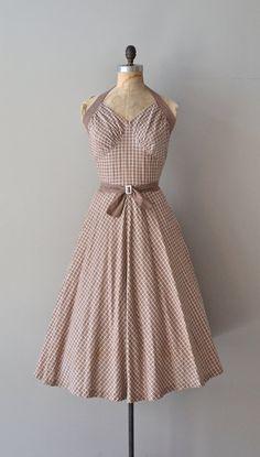 1950's Halter Neck Dress