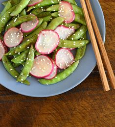 It's radish & pea season... Stir-fried Sugar Snap Peas and Radishes | Appetite for China