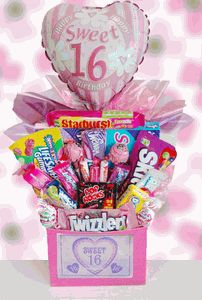 Sweet 16 Birthday Candy Bouquet