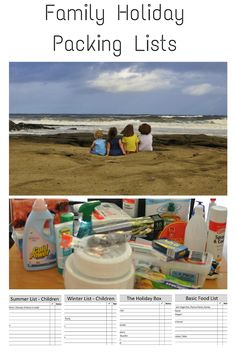Family Holiday Packing Ideas