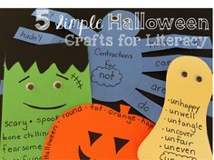 5 Easy Paper Crafts for Literacy