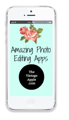 The Vintage Apple: My Favorite Photo Apps (Day 2-Blog Every Day Challenge)