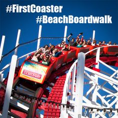 National Roller Coaster Day is this Saturday, Aug 16th. We're celebrating ALL WEEK with fun and historic photos, videos and prizes! Join in on the fun and share your first roller coaster ride stories and photos with us using #firstcoaster and #beachboardwalk hashtags. We'll be selecting from your posts daily for giveaways!  Only requirements are the hashtags.  More to come - Have fun!! -ds