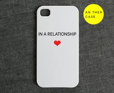 iphone 4 case iphone 4s case  relationship status by AnotherCase, $20.99
