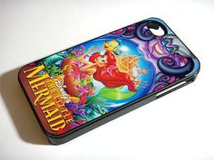 Ariel The Little Mermaid  Disney - iPhone 4 / iPhone 4S / iPhone 5 Case Cover 451K on Etsy, $14.99