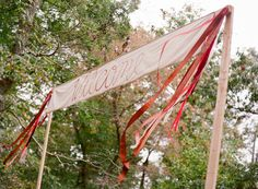 welcome banner at the reception | Jen Fariello #wedding