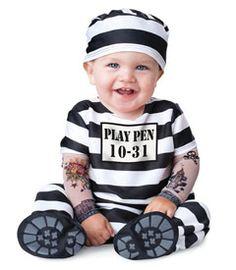 Baby prisoner costume-Chasing Fireflies
