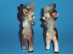 Vintage Reindeer Salt and Pepper Shakers | eBay